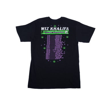 Wiz Khalifa Decent Exposure Tour T-Shirt 2019