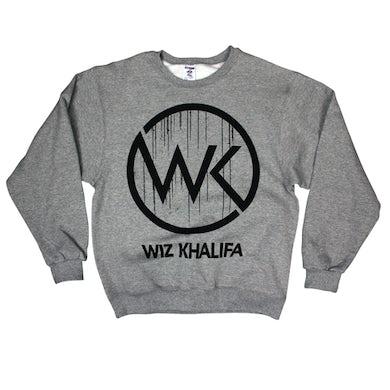 Wiz Khalifa Wk Logo Drip Sweatshirt