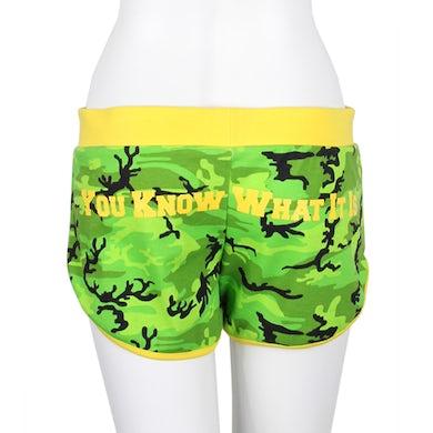 Wiz Khalifa Rootsy Custom Booty Shorts