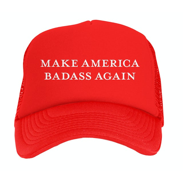 37afd87c316 Kid Rock Make America Badass Again Hat