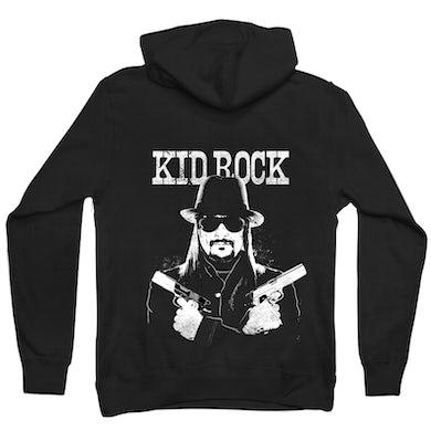 Kid Rock Crossed Guns Zip Hoodie