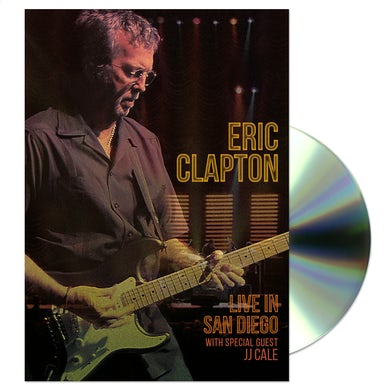 Eric Clapton Live In San Diego (with Special Guest JJ Cale) DVD