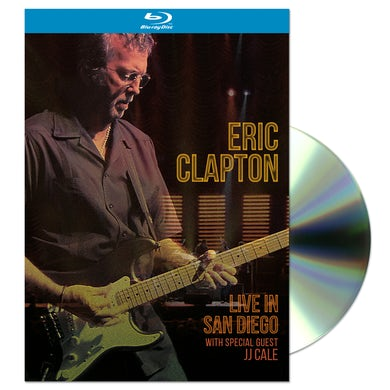 Eric Clapton Live In San Diego (with Special Guest JJ Cale) Blu-ray