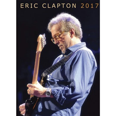 Eric Clapton 2017 Tour Program