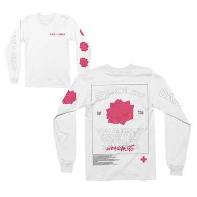 Dan + Shay Speechless Longsleeve T-Shirt White