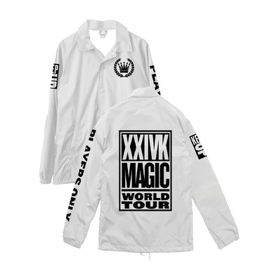 Bruno Mars Players Only Tour Jacket (White)