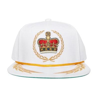 Bruno Mars Emblem Snapback (White)