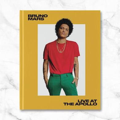 Bruno Mars 'Live at the Apollo' Hardcover Book