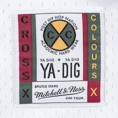 Bruno Mars 24K CxC Cross Baseball Jersey