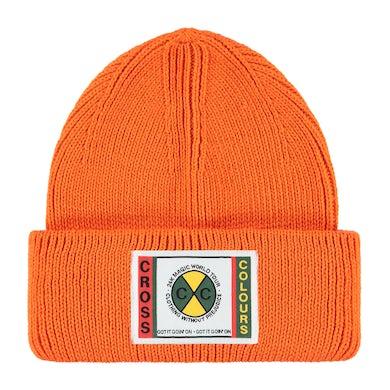 Bruno Mars 24K CxC Patch Beanie (Orange)