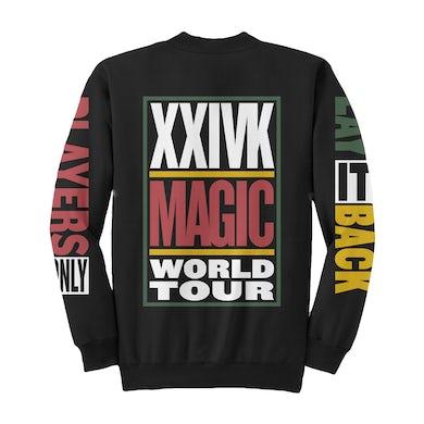 Bruno Mars World Tour Crewneck (2018 Edition)