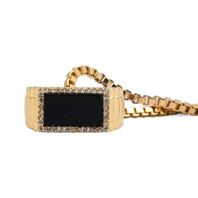 Bruno Mars Pinky Ring Necklace