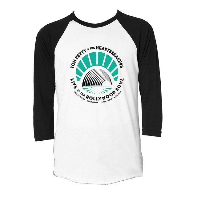 Tom Petty and the Heartbreakers Hollywood Bowl Raglan