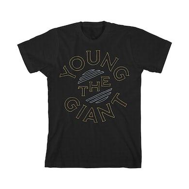 Young The Giant Circular Logo (Black)
