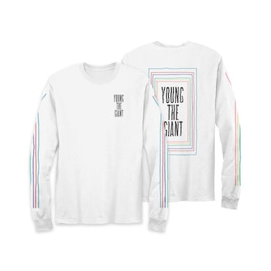 Young The Giant Rainbow Lines Longsleeve T-Shirt