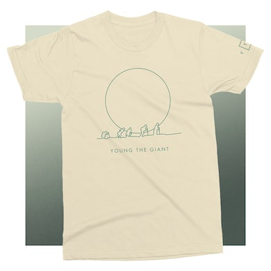 Young The Giant Climber Natural T-Shirt