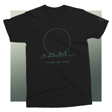 Young The Giant Climber Black T-Shirt