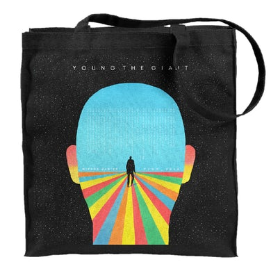 Young The Giant Rainbow Head Tote