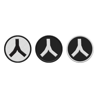 Gojira Volcano Logo Patch Set