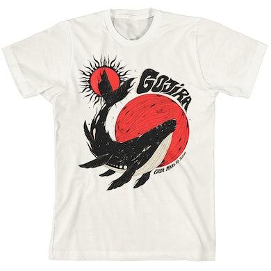 Gojira Whale Sun Moon White T-Shirt