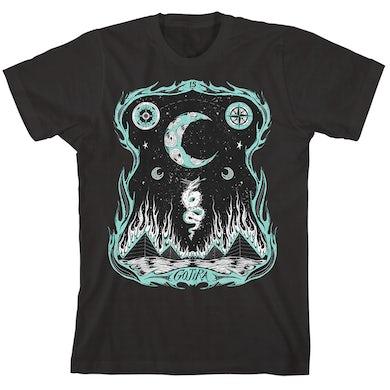Gojira Dragons Dwell Black T-Shirt