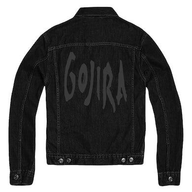 Gojira Logo Denim Jacket