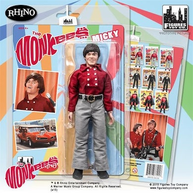The Monkees Figure One Red Band Outfit: Micky Dolenz