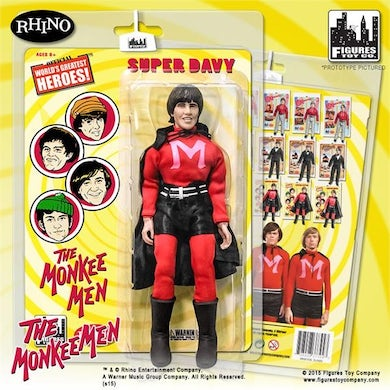 The Monkees Figure One The Monkee Men Outfit: Davy Jones