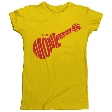 The Monkees Logo T-Shirt Yellow