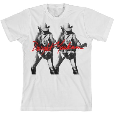 Dwight Yoakam Second Hand Heart Album T-Shirt