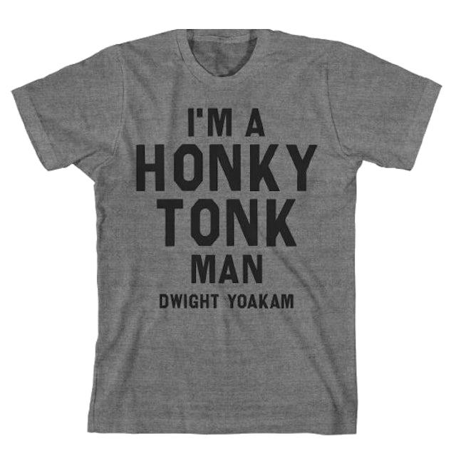 Dwight Yoakam Honky Tonk Text T Shirt