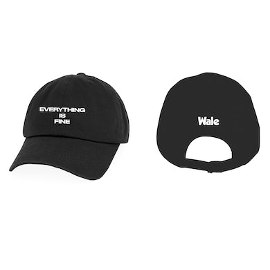 Wale Everything is Fine Dad Hat