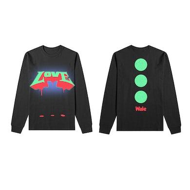 Wale Graffiti Love Long Sleeve T-Shirt