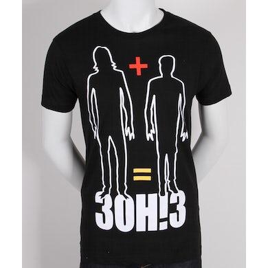 3OH!3 Math Mens Slim Fit T-Shirt