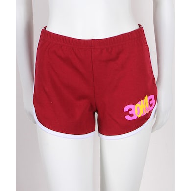 3OH!3 Hand Juniors Booty Shorts