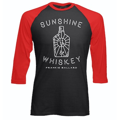 Frankie Ballard Sunshine & Whiskey Baseball Tee