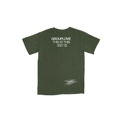 Grouplove This Is This T-Shirt (Olive)