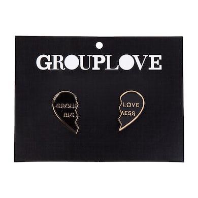 Grouplove Enamel Pin Set