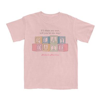 Melanie Martinez Play Date Blocks T-Shirt