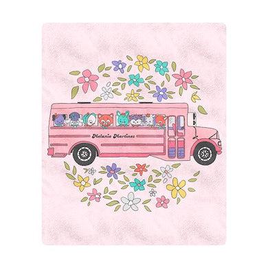 Melanie Martinez School Bus Blanket