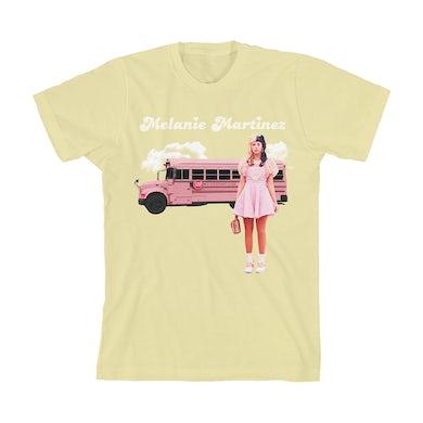 Melanie Martinez Pink Bus Buds T-Shirt