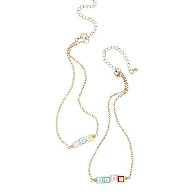 Melanie Martinez Cry Baby Blocks Necklace