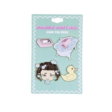Melanie Martinez Soap Pin Pack