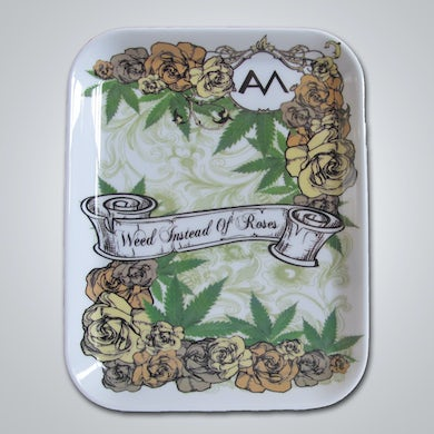 Ashley Monroe Weed Instead of Roses Rolling Tray
