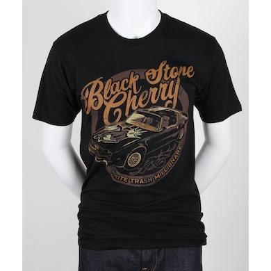 Black Stone Cherry White Trash Car T-Shirt