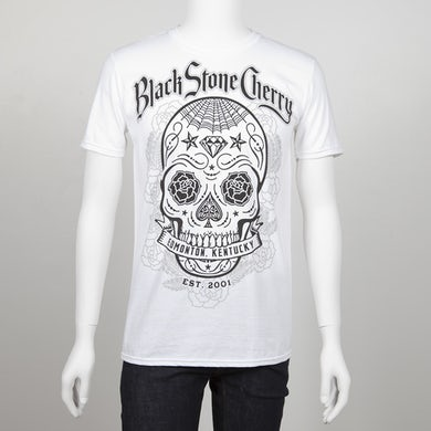 Black Stone Cherry Sugar Skull Bomb T-Shirt
