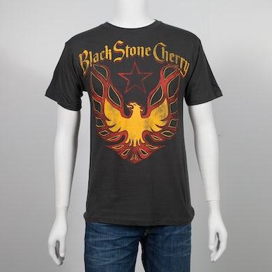 Black Stone Cherry Eagle Charcoal T-Shirt