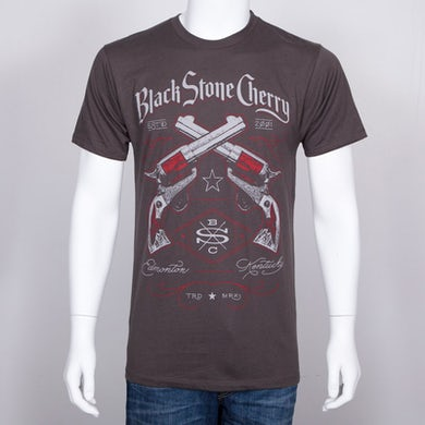 Black Stone Cherry Revolvers T-Shirt