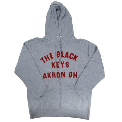 Black Keys Akron Grey Hoodie