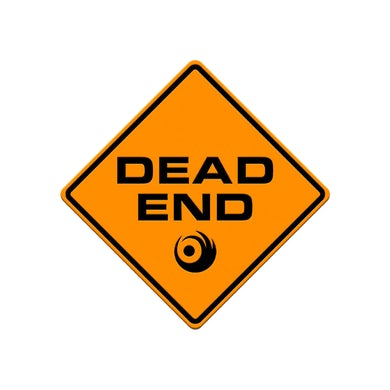 Lights Dead End Sign
